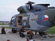 Vrtulník W-3A Sokol zamířil na generální opravu do Polska