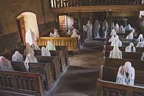 Výstava v kostele v Lukové