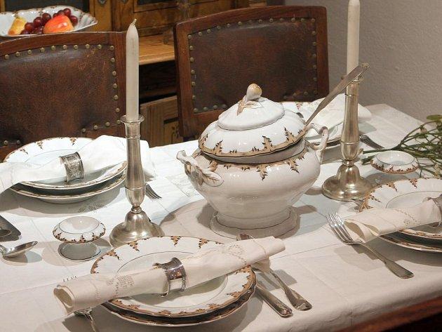 Výstava Kuchyně naší prababičky v Národopisném muzeu Plzeňska