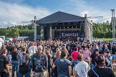 Na patnáctém ročníku Basinfirefestu ve Spáleném Poříčí zahrála i skupina Limetal, kterou založili čtyři bývalí členové legendární české hardrockové skupiny Citron. Po koncertě se podepisovali fanouškům a společně s nimi se i fotili.