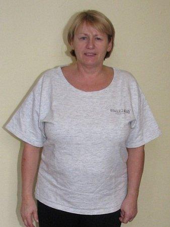 Božena Vyšatová zVšerub dokázala vsoutěži Fit sDeníkem zhubnout během tří měsíců patnáct kilogramů - před
