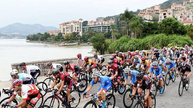 Cyklisté Sparty závodili potřetí v sezoně v Číně a do Říše středu se ještě jednou vrátí.