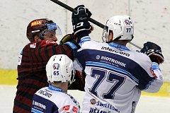 Hokejisté Škodovky podlehli na domácím lede v prodloužení Spartě 2:3.