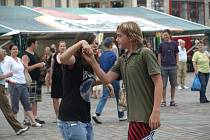 Festival Na ulici - koncert kapely Gothart na náměstí Republiky