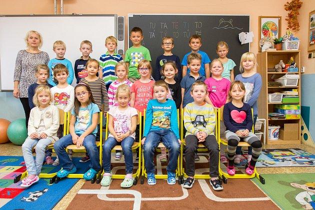20. základní škola. 1.B - třídní učitelka Radka Vítová