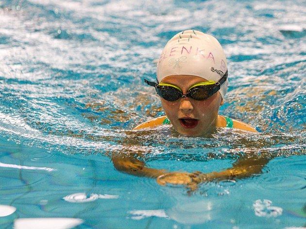 Děti plavaly o Pohár ministra školství