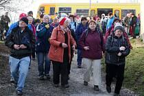 Turisté se sešli v Horní Bříze, kde o víkendu proběhla tradiční akce Hornobřízský puchýř