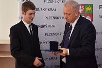 Předání Ceny hejtmana 2012.
