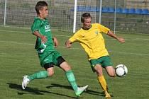 Ve finále loňského ročníku memoriálu Stanislava Štrunce se utkali fotbalisté slovenské Žiliny (vpravo) a maďarského Haladáse. Dorostenci Žiliny vyhráli 1:0