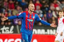 Viktorka v neděli porazila pražskou Slavii.Jediný gól utkání dal Kolář.