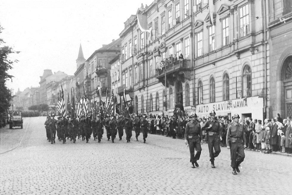 Osvobození Plzně 6. května 1945.