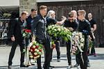 Poslední rozloučení s fotbalistou Marianem Čišovským.