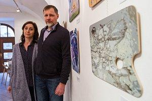 Výstava Na plzeňské paletě - Jana Roštíková a Marek Roštík
