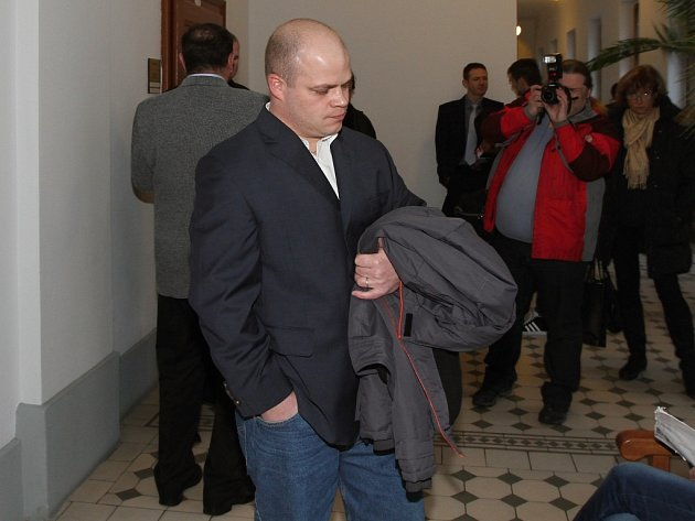 Odsouzený Michal Poláček na snímku z února.