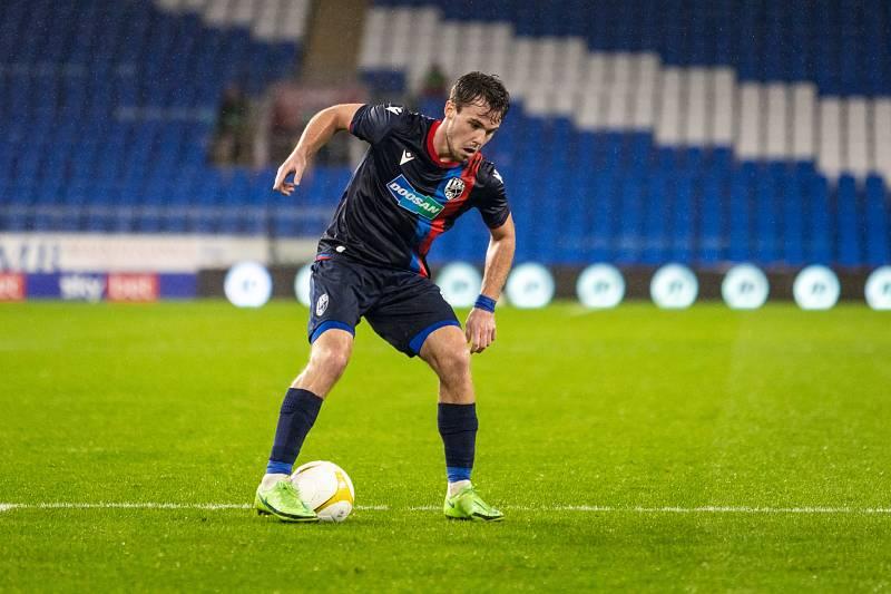 Pavel Bucha naskočil po zranění do sestavy až minulý týden ve Walesu, v úvodním zápase 3. předkola Evropské konferenční ligy, které fotbalisté Viktorie Plzeň prohráli 2:4.