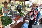 Trhy regionálních potravin na nádvoří Krajského úřadu v Plzni