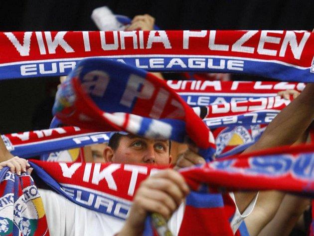 Utkání 3. předkola Evropské ligy mezi FC Viktoria Plzeň a Besiktas Istanbul