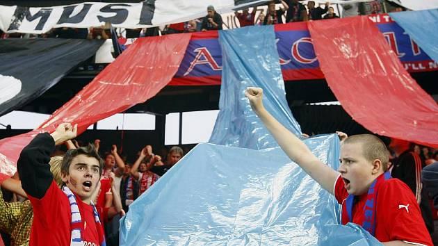 Z utkání 3. předkola Evropské ligy mezi FC Viktoria Plzeň a Besiktas Istanbul v roce 2010