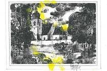 Kostel svatého Jiří s historií sahající do románského období náleží kmotivům, které představí výtvarník Klement Štícha na své nové výstavě věnované plzeňské čtvrti Doubravka