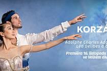 Premiéra inscenace Korzár.