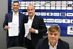 Tisková konference HC Škoda Plzeň před začátkem sezony