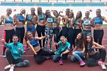 Vítězný tým žen AK Škoda Plzeň.