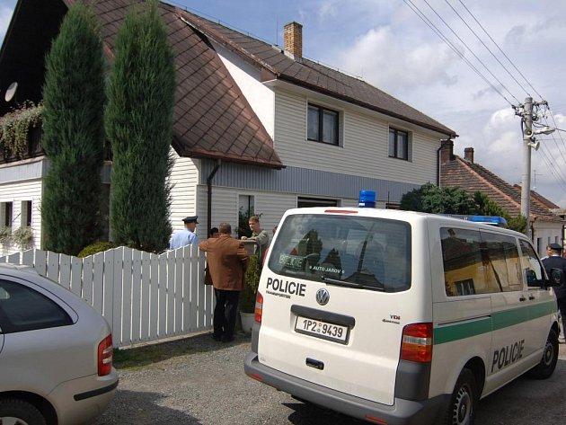 Domek, kde se tragédie stala