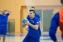 Čeští reprezentanti sehrají v Plzni kvalifikační utkání s Faerskými ostrovy.