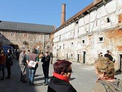 Hospodářský dvůr v areálu plaského kláštera
