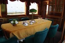 Prezidentský vlak v Plzni