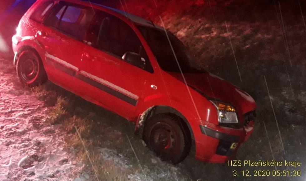 Nehoda u Nepomuku, 3. 12. 2020