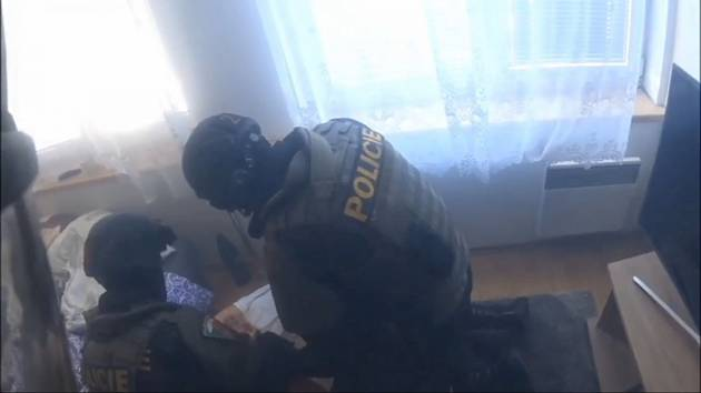 Záznam policejní razie