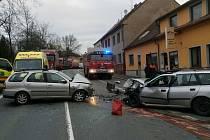 Dopravní nehoda v Přešticích