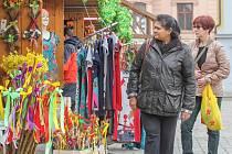 Plzeňské centrum i letos zaplnily velikonoční trhy