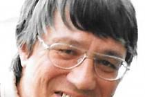 Jan Vyčítal na archivním snímku Evy Hubatové pořízeného při plzeňských květnových oslavách.