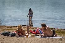 Bolevecký rybník ve čtvrtek 3. června 2021.