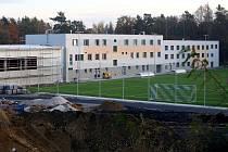 Rekonstrukce sportovního areálu Na Prokopávce v Plzni-Bolevci.