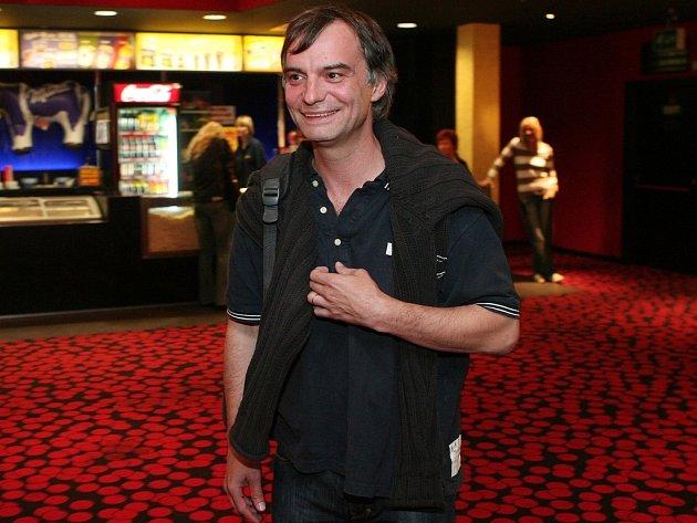 Ivan Trojan v plzeňském multikině CineStar.