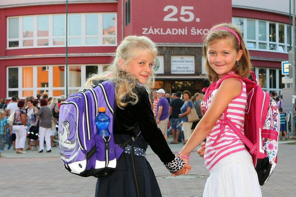 Dvě nerozlučné kamarádky Barunka a Kačenka.