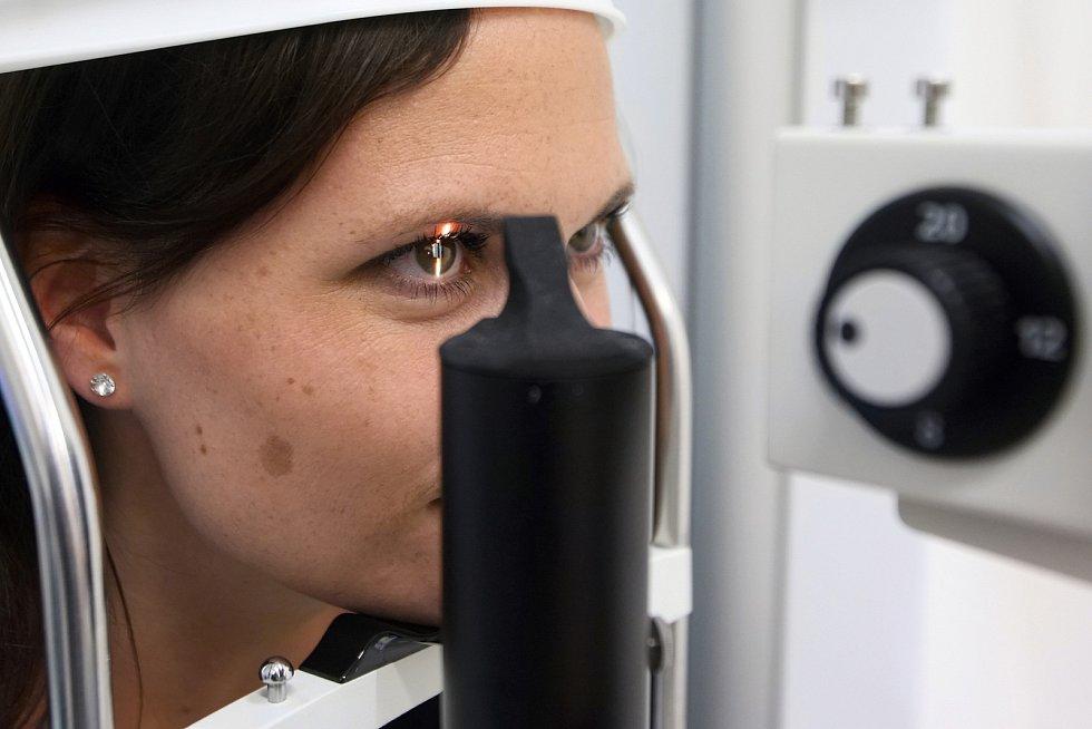 Oko. Oční klinika. Ilustrační foto.