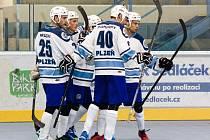 Plzeňští hokejbalisté ve třetím extraligovém kole zdolali nováčka z Rakovníka 6:2. Trenér Michal Edl ale nebyl spokojen s úvodem zápasu, který se HBC nevydařil