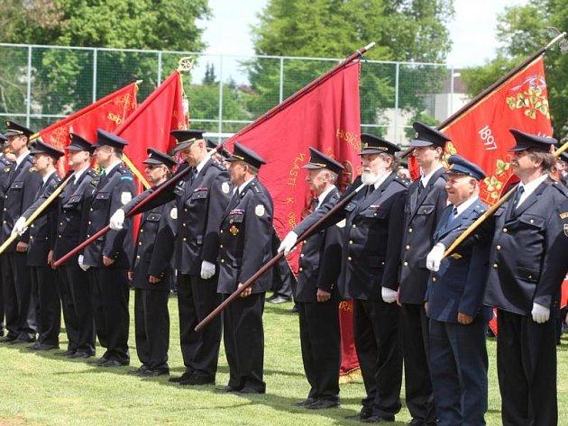 Oslavy výročí 140 let od založení Sboru dobrovolných hasičů ve Stodě.