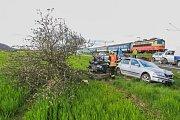 Nehoda mezi Borovy a Lužany