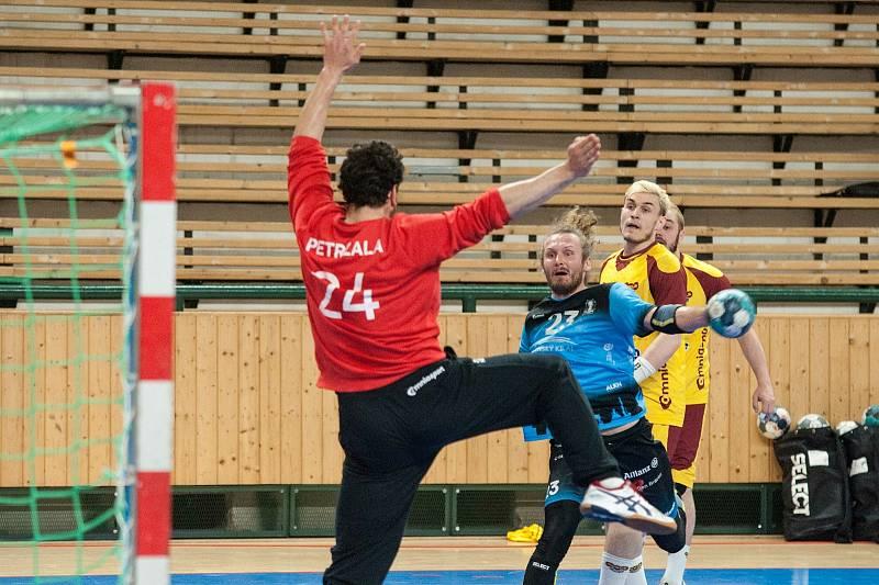 Semifinále play-off 2021 házenkářské extraligy Talent tým Plzeňského kraje - Dukla Praha, 9. května 2021