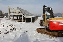 Výstavba atletického areálu