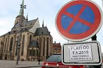 Na náměstí Republiky nebude možné zastavit, místo si přebírá Evropské hlavní město kultury