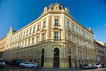 Budova Fakulty zdravotnických studií ZČU.
