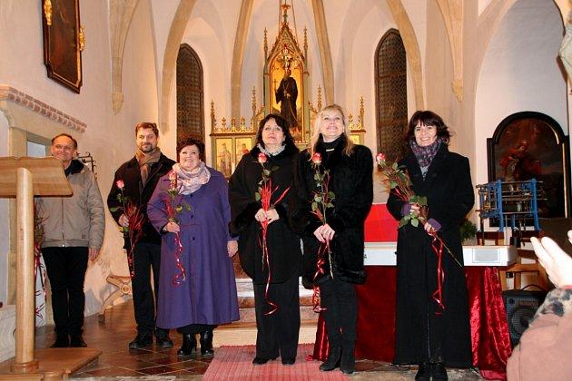 Vánoční koncert v Letinech.