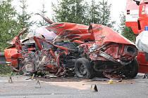 Tragická nehoda u Nepomuku na jižním Plzeňsku