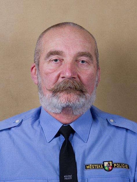 Petr Vlk, velitel Městské policie Plzeň